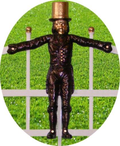 Panou gard cu figurine din fonta pentru imprejmuire spatii verzi
